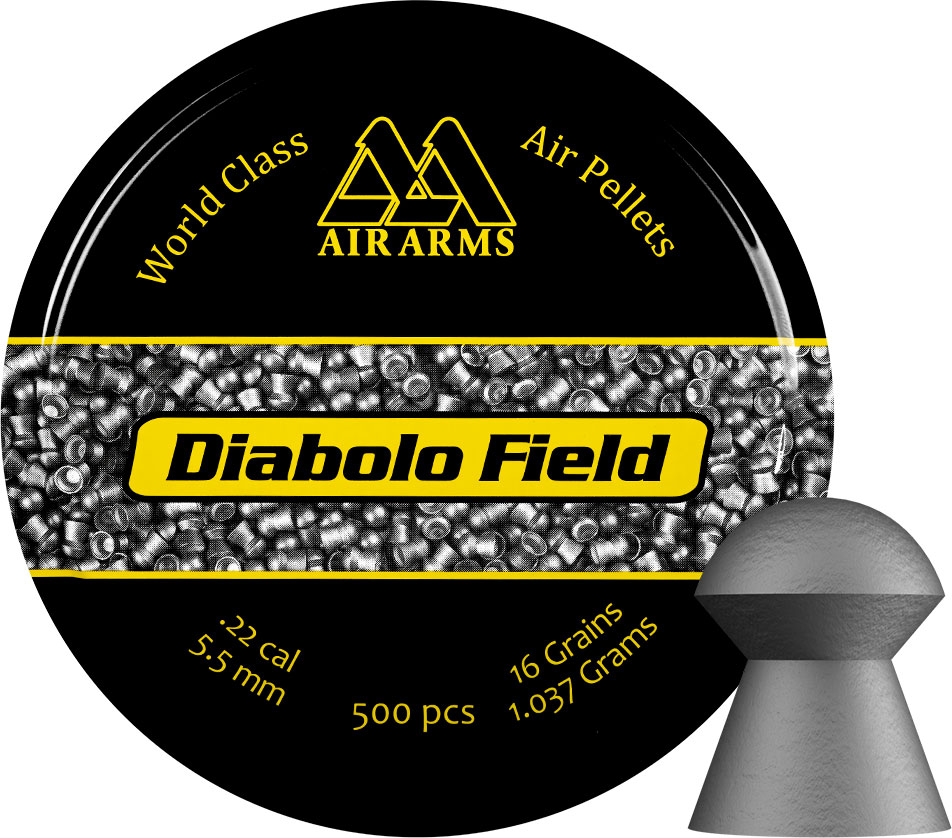 Air Arms Diabolo Field Pellets .22 - 5.52 - 16gr