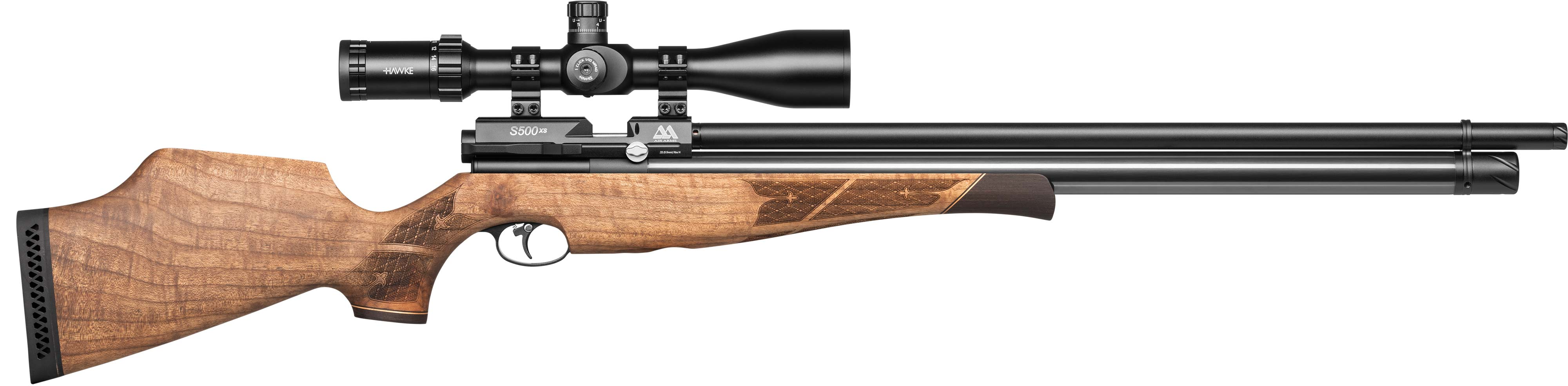 Air Arms - S500 XS Xtra Walnut