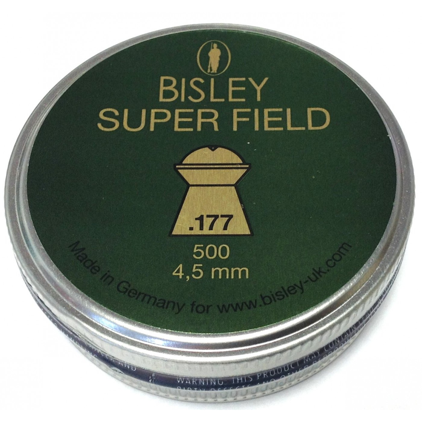 Bisley Super Field .177 4.5 - 8.64gr